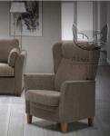 Fotel w stylu retro z funkcją relax REINA