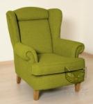 Rewelacyjny fotel w stylu vintage- Babciny fotel