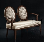 Sofa dwuosobowa w stylu Art-Deco Anello