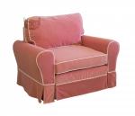 Mała sofa bez funkcji spania Flower 126 cm