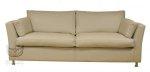 Nowoczesna beżowa sofa 3-osobowa- NADIA