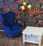 Zestaw  fotel i klasyczny stolik NO.02-Frou Frou fotel
