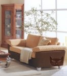 2,5-osobowa sofa w kolorach kawy z mlekiem  Paradioso