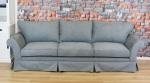 Szeroka sofa w stylu prowansalskim Federica 285 cm