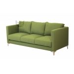 Prosta kanapa zgniła zieleń Adonis 200 cm