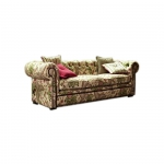 Chesterfield w kwiaty pikowany Chesterfield Flower