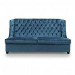 Pikowana sofa z funkcją spania Fortuna trzyosobowa