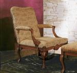 Komfortowy fotel w stylu królewskim Stradivari