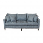 Nierozkładana stylowa sofa Leonia 220 cm