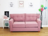 Dwuosobowa sofa pikowane oparcie Ommar