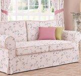 Sofa fartuchowiec z funkcją spania Marie 166 cm