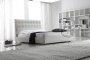 Proste łóżko Migel materac 120x200 cm
