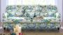 Kanapa w niebieskie róże, tkaniny brytyjskie SANDERSON - Isabella