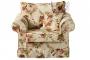 Fotel ze zdejmowanym pokrowcem w romantycznym stylu Christine