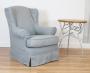 Fotel w stylu angielskim ze zdejmowanym pokrowcem - Fotel Flower