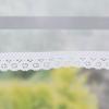 Roleta rzymska woalowa - wykończenie z wąską koronką