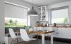 Żaluzja aluminiowa wystrój w kuchni - sklep Olmark