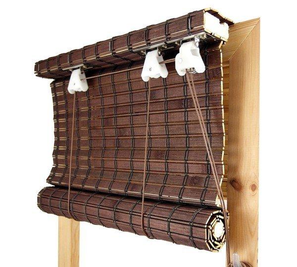 Rolety Bambusowe Rolowane na Wymiar