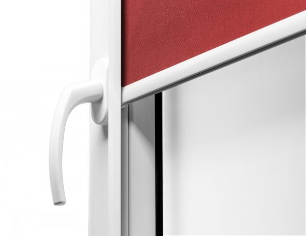 Estetyczne wykończenie aluminiową listwą zewnętrzną w rolecie PLUS