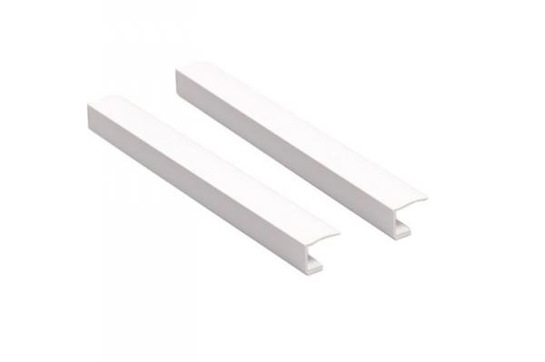 Boczne prowadnice z PCV do rolet mini lub w kasecie - 150cm Biel