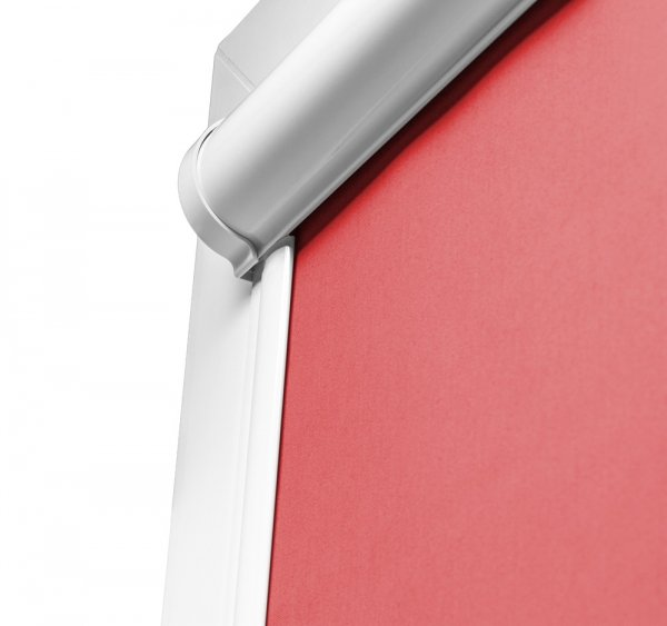 Kaseta w roletach LUIX ma bardzo ładny, obły kształt