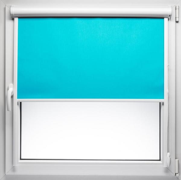 roleta w kasecie przyklejana na ramę okna