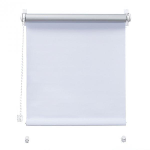 Mini roleta z żyłką Thermo - Biały (Silver)