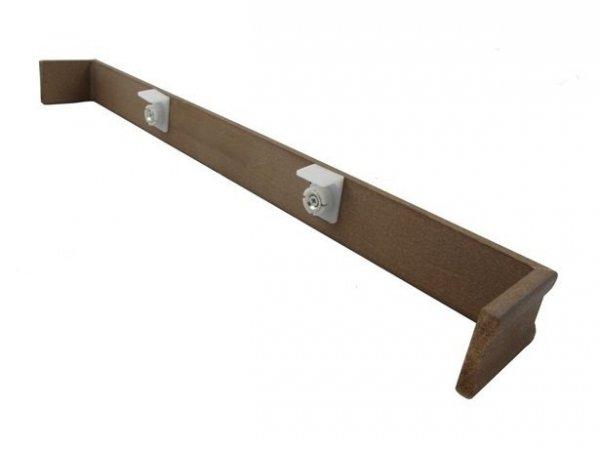 Maskownica żaluzji drewnianej 25mm