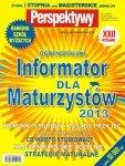 Informator dla maturzystów 2013