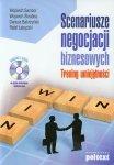 Scenariusze negocjacji biznesowych z płytą CD
