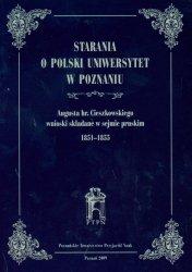 Starania o Polski Uniwersytet w Poznaniu