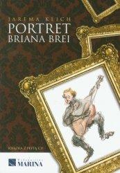 Portret Briana Brei z płytą CD