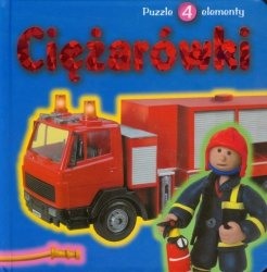 Ciężarówki Książka z puzzlami
