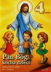 Pan Bóg kocha dzieci 3-4 lata Podręcznik