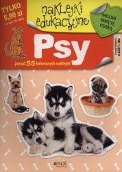 Psy naklejki edukacyjne