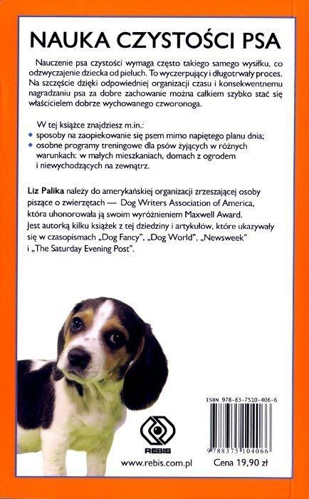 Nauka czystości psa