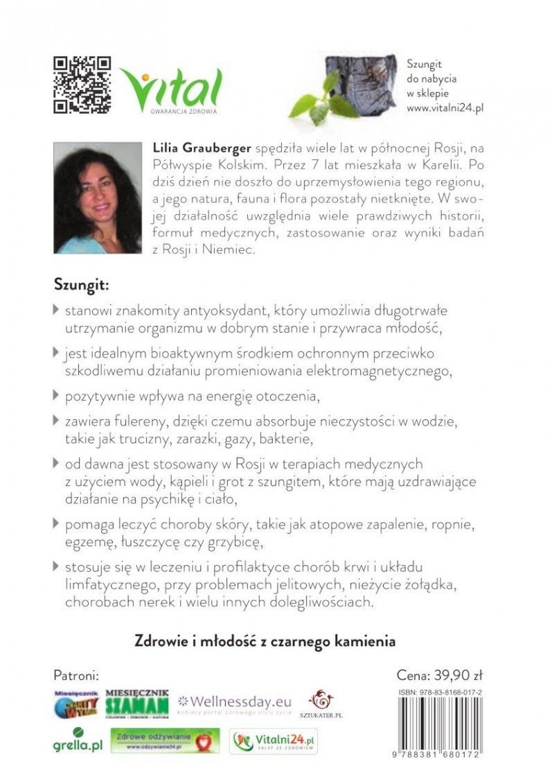 Szungit. Rosyjski kamień zdrowia. Medycyna ludowa w praktyce