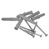 Winkelgriff 70/70 cm für barrierefreies Bad links/rechts montierbar weiß ⌀ 32 mm mit Abdeckrosetten