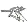 Stützgriff für barrierefreies Bad links montierbar 60 cm ⌀ 32 mm mit Abdeckrosetten