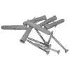 Gerader Handlauf für barrierefreies Bad 100 cm  aus rostfreiem Edelstahl ⌀ 25 mm