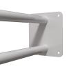 Stützgriff am WC oder Waschbecken für barrierefreies Bad weiß 60 cm ⌀ 25 mm