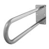 Stützgriff für barrierefreies Bad aus rostfreiem Edelstahl 75 cm ⌀ 32 mm