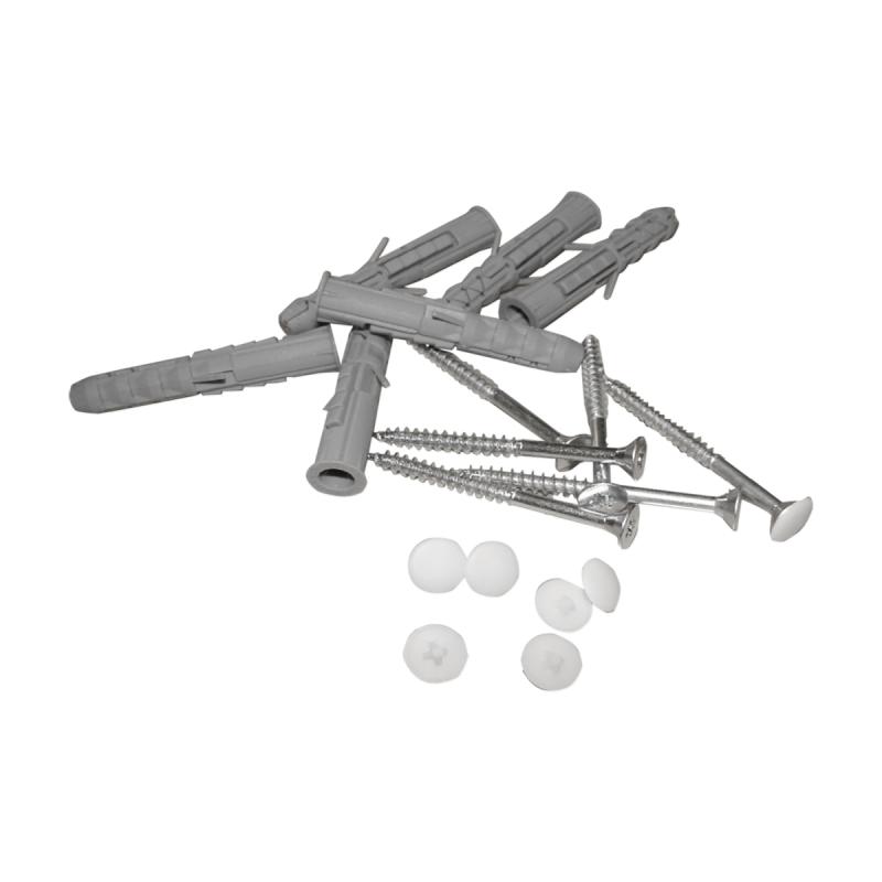 Haltegriff für barrierefreies Bad 50 cm weiß ⌀ 32 mm
