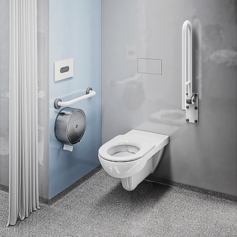 WC Sitzring passend zu Wand- und Stand-WC für barrierefreies Bad