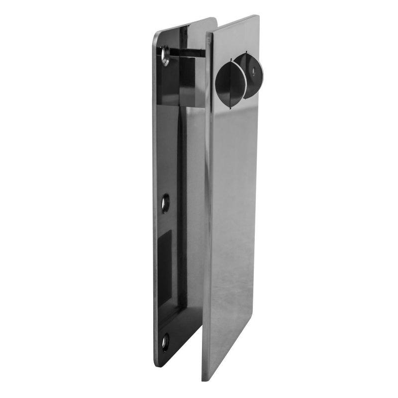 WC-Klappgriff für barrierefreies Bad aus rostfreiem Edelstahl 75 cm ⌀ 32 mit Abdeckplatten