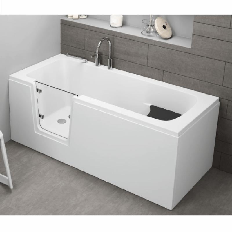 Frontpaneel für VOVO Badewanne 160 cm weiß