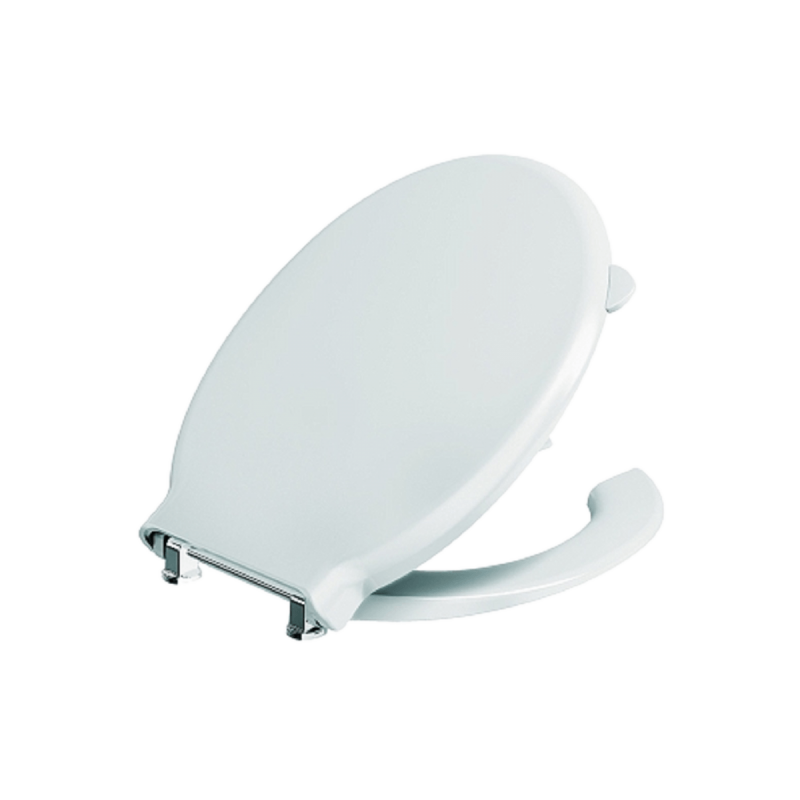 WC Sitz mit mit Hygiene-Öffnung passend zu Wand- und Stand-WC für barrierefreies Bad