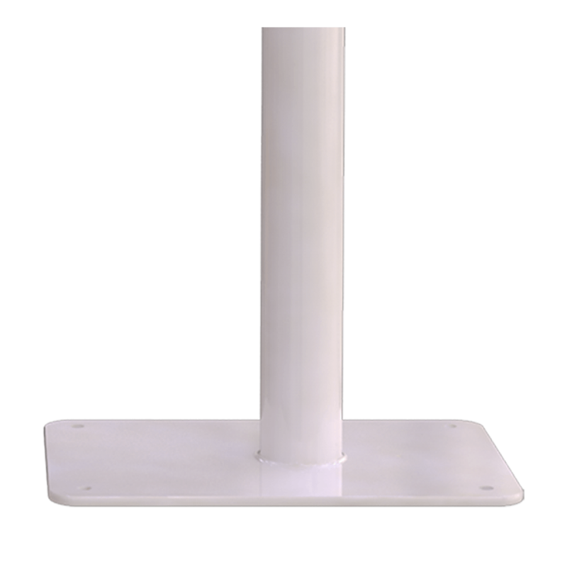 Klappgriff am WC oder Waschbecken für barrierefreies Bad freistehend weiß 50 cm ⌀ 32 mm