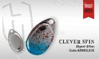 PRZYNĘTA CLEVER SPIN 1.5gr skynet- silver
