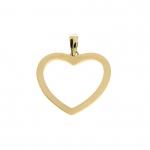Zawieszka serce  złoto 585 wyjątkowy prezent etui gratis